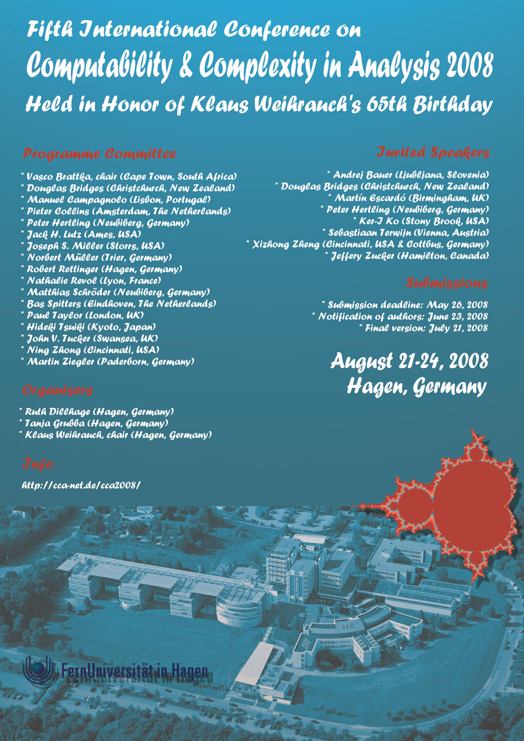 CCA 2008 Poster