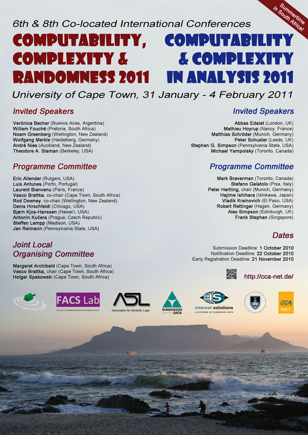 CCA-CCR 2011 Poster