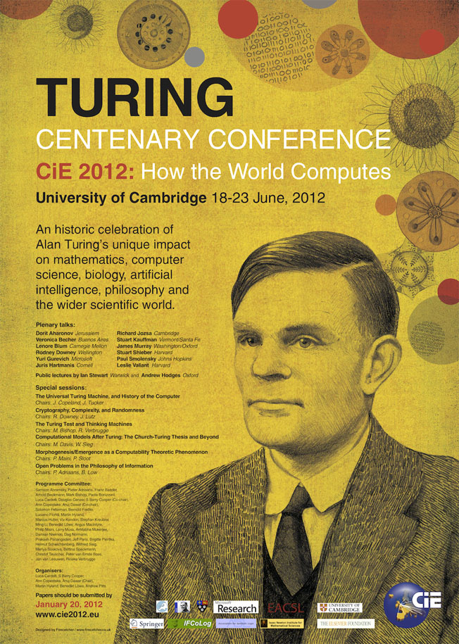 CiE 2012 Poster